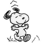 Snoopy dancing 5