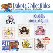 Cuddly Animal Quilt