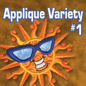 Applique Variety #1