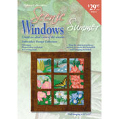 Summer Window Pane