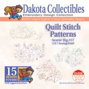Quilt Stitch Patterns Sewin Big #37