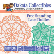 Free Standing Lace Doilies