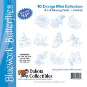 Bluework Butterflies Mini Collection
