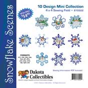 Snowflake Scenes Mini Collection