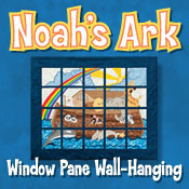 Noah's Ark Window Pane