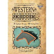 Western Themed Scrubbies