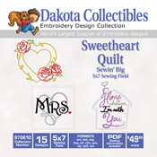 Sweetheart Quilt Square
