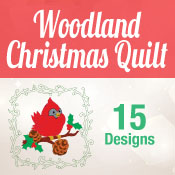 Woodland Christmas Quilt