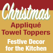 Christmas Towel Toppers