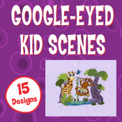 Google Eye Kid Scenes (5x7)