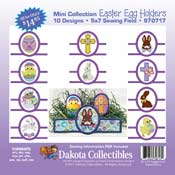 Easter Egg Holders Applique Mini Collection