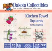 Kitchen Towel Squares