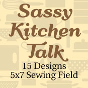 Sassy Kitchen Talk 5x7