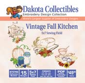 Vintage Fall Kitchen