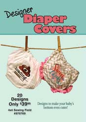 Designer Diaper Covers (4x4)