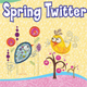 Spring Twitter Applique