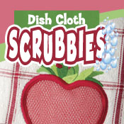 Dish Cloth Scrubbies (5x7)