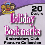 Holiday Bookmarks (4x4)