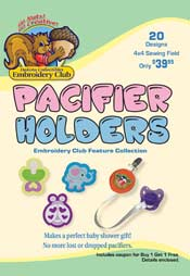 Pacifier Holders (4x4)